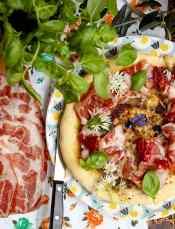 ricetta pizza con crema di fave la favalanciata