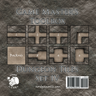 Dungeon Tiles Set IV - Nord Games