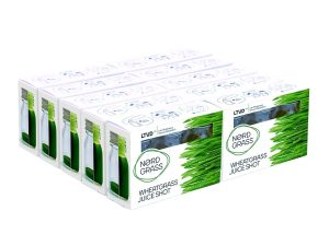 NordGrass-High quality additive-free LTVD™ wheatgrass juice 30-Pack