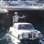 Mercedes Benz entwickelt erste Wasser-Parkplätze!