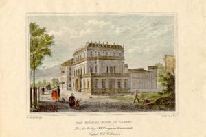 Historischer-Stahlstich-des-Staendehauses