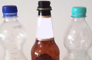 PE-Flasche