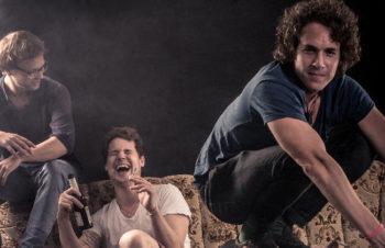[Foto: v.l. Simon, Ben, Daniel (Mr. D), Julio Norieg