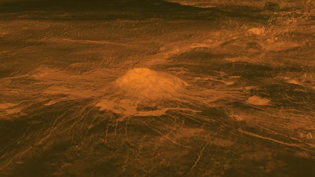 Vulkan Idunn Mons auf der Venus