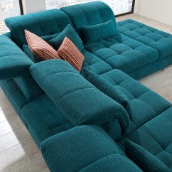 Teal Colored Leather Sofas Broyhill Emily Sofa Navy Sectional 3pc In Fabric By