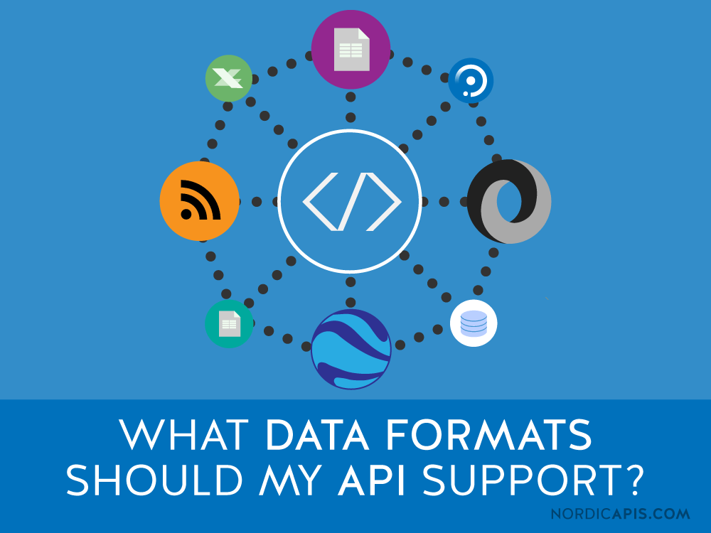What Data Formats Should My API Support  Nordic APIs