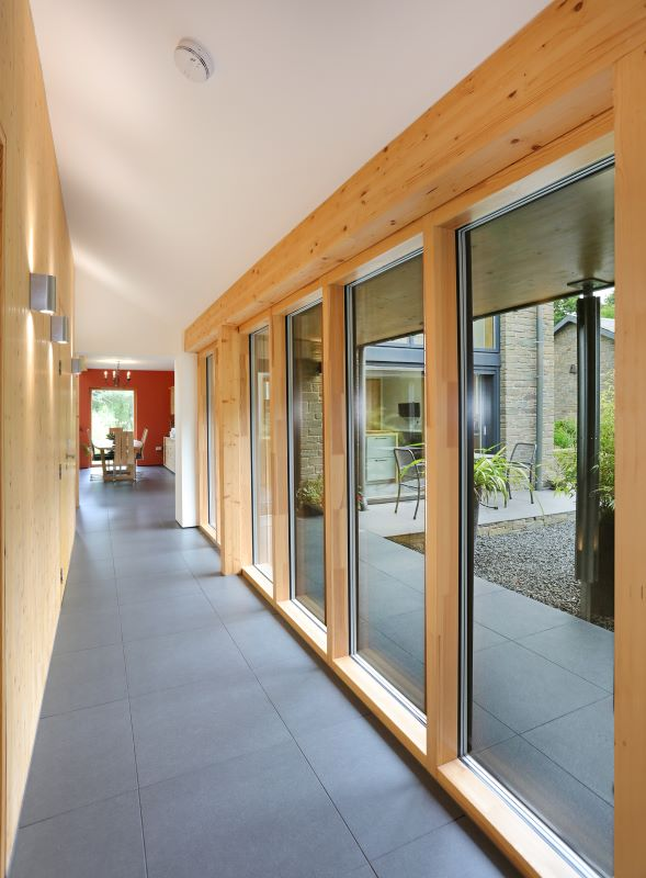 timber curtain walling nordic