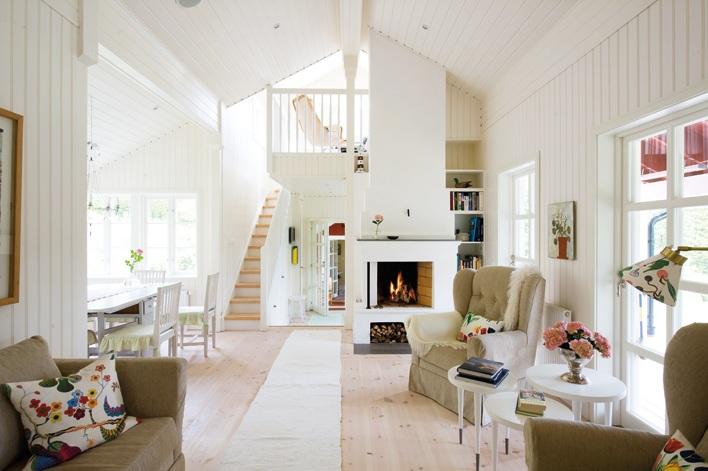 Living Room Oak Unit