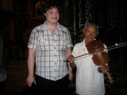 Don Januario's Bolivian folk tune now appears in nearly all of NBE's concerts.