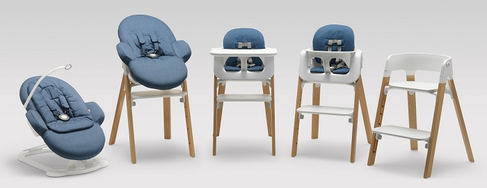 stokke high chair rail designs ideas new stylish by nordicdesign