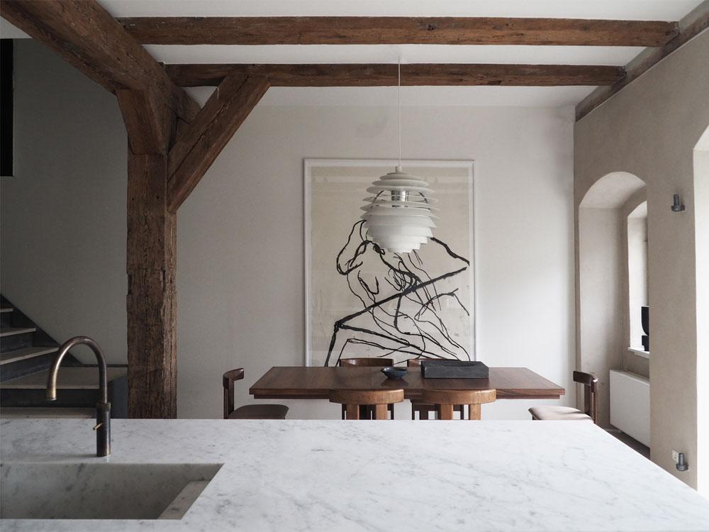 Peek Inside a Sophisticated Copenhagen Townhouse by