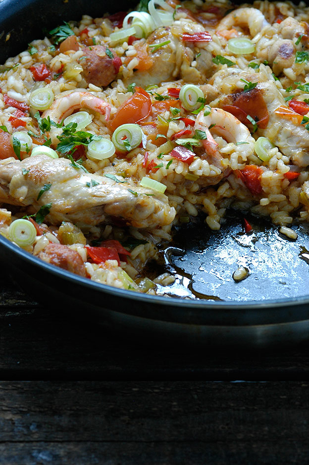 Jambalaya, one of Louisiana's iconic dishes