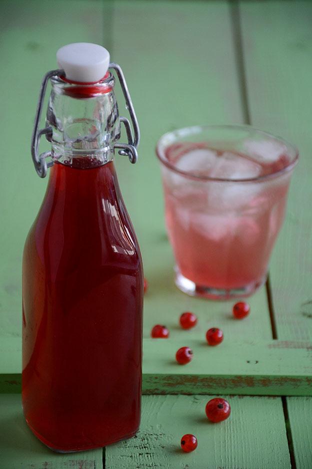 Redcurrant cordial