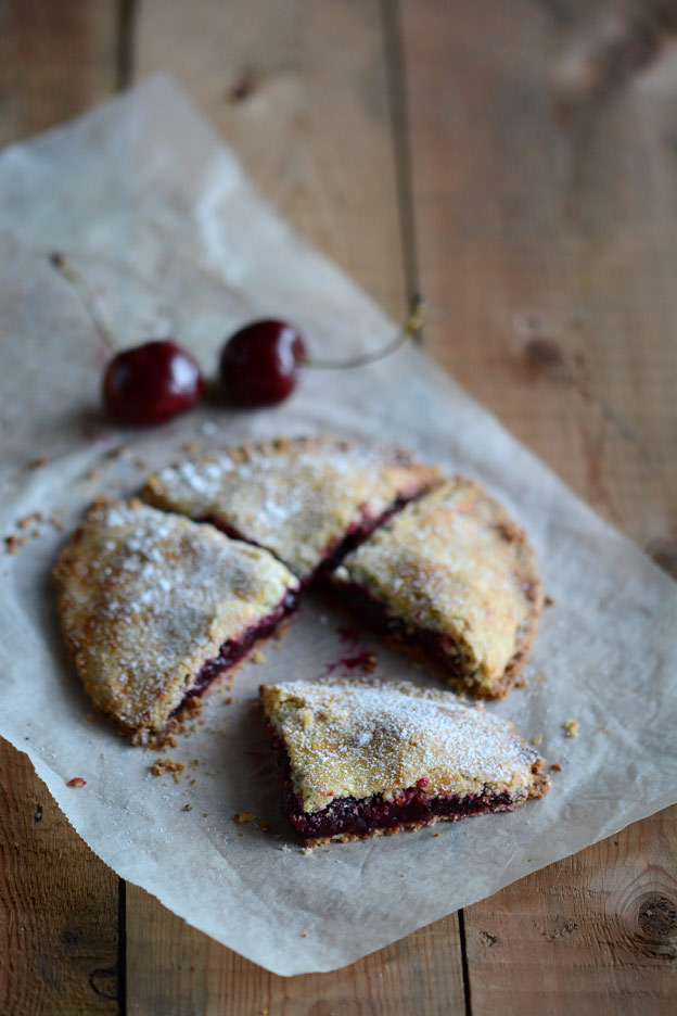 Cherry pie from Moldova