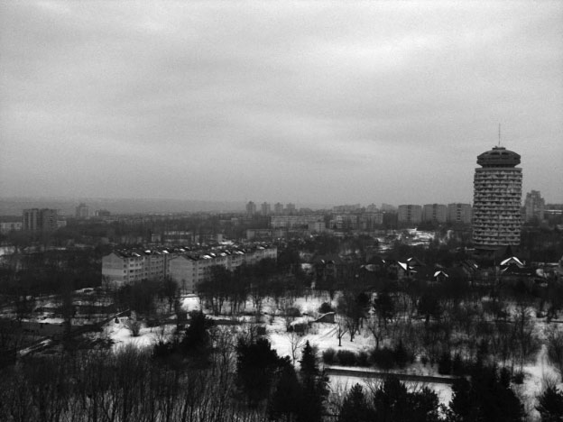 View from the hospital taken with my mobile phone. How I wish we were home