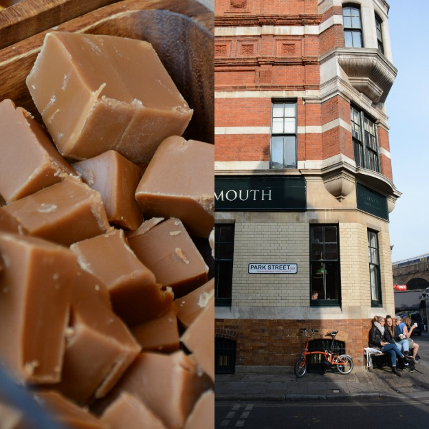British toffee and Monmouth Coffee