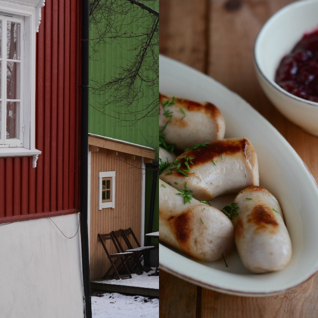 Rodeløkka and Nordic Christmas pork sausages.