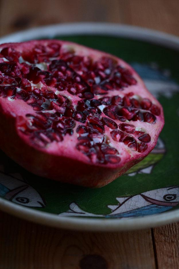 The pomegranate.