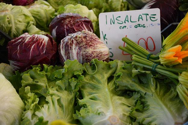 Insalate misto, mixed salad