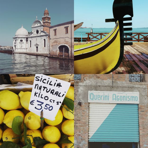 Venezia, blått og gult