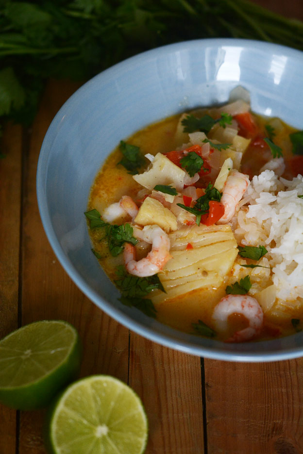 Moqueca, fish stew from Brazil