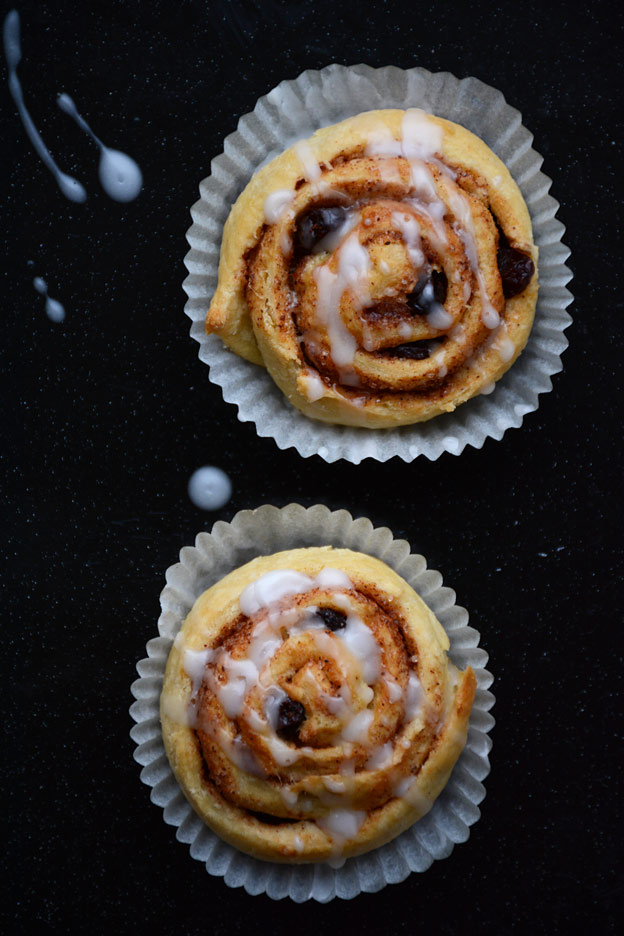 Cinnamon buns, classic bakery from Scandinavia
