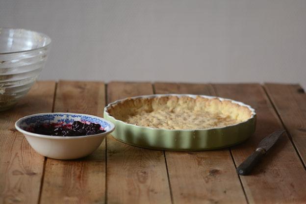 Paibunn, syltetøy og mandelfyll er det som trengs til Bakewell tart