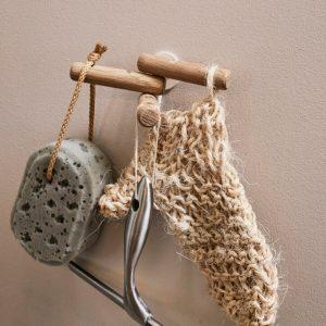 Nordic Fucntion 3Hooks eg er perfekt som badeværelse knage i køkkenknage, entreknage eller bag døren