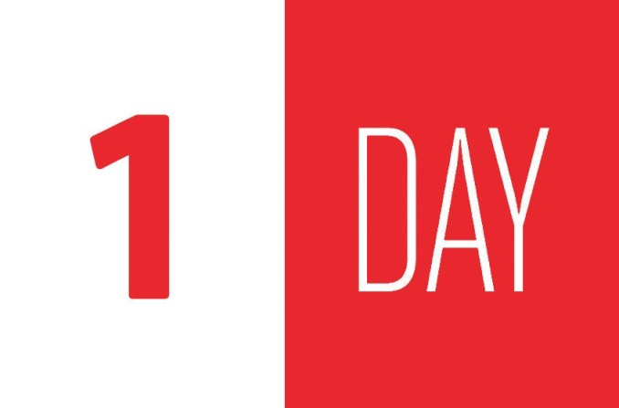 NG17 Early Bird Countdown – 1 day