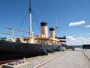 For the venue, we had the museum ship Suur Tõll. Photo by Juhana Pettersson.