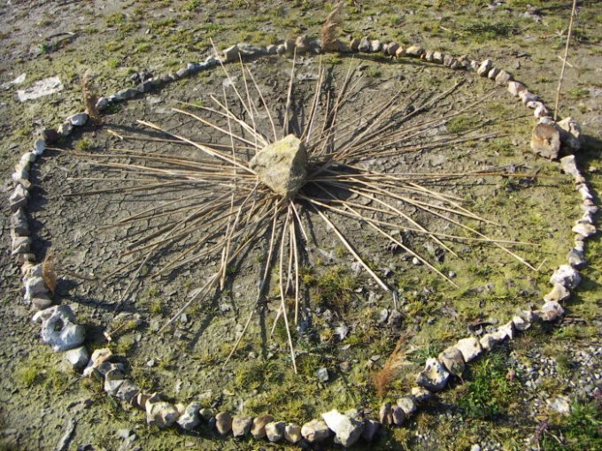 Circles are core components of rituals.