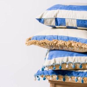 "handmade pillowcase, 18"" square, zipper opening   Nordic Light Home"