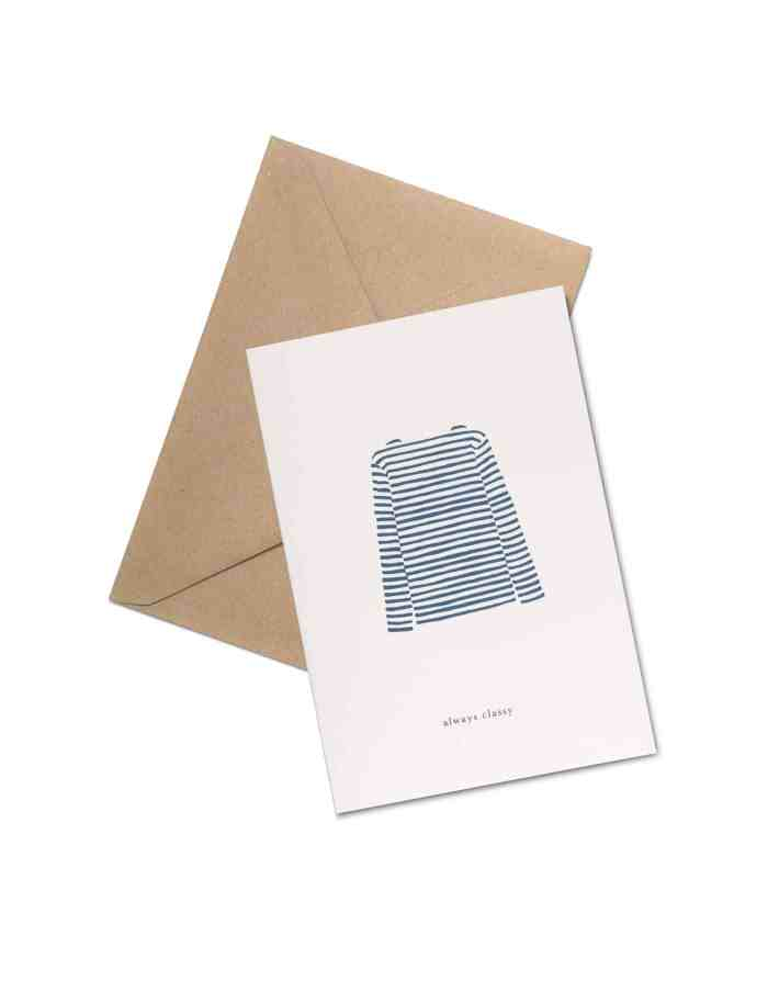 Kartotek 'Always Classy' Greeting Card