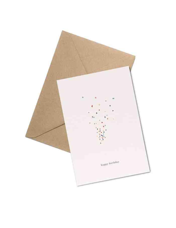 Kartotek 'happy birthday' Greeting Card
