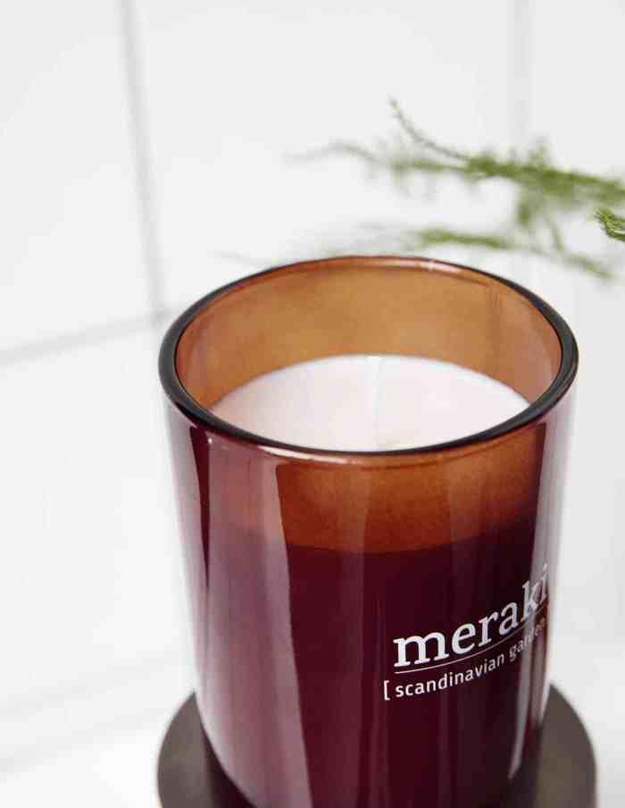 Meraki Scandinavian Garden Scented Candle, Small