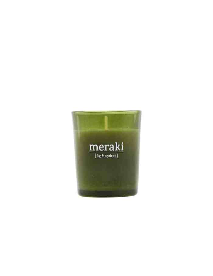 Meraki Fig & Apricot Scented Candle, Small