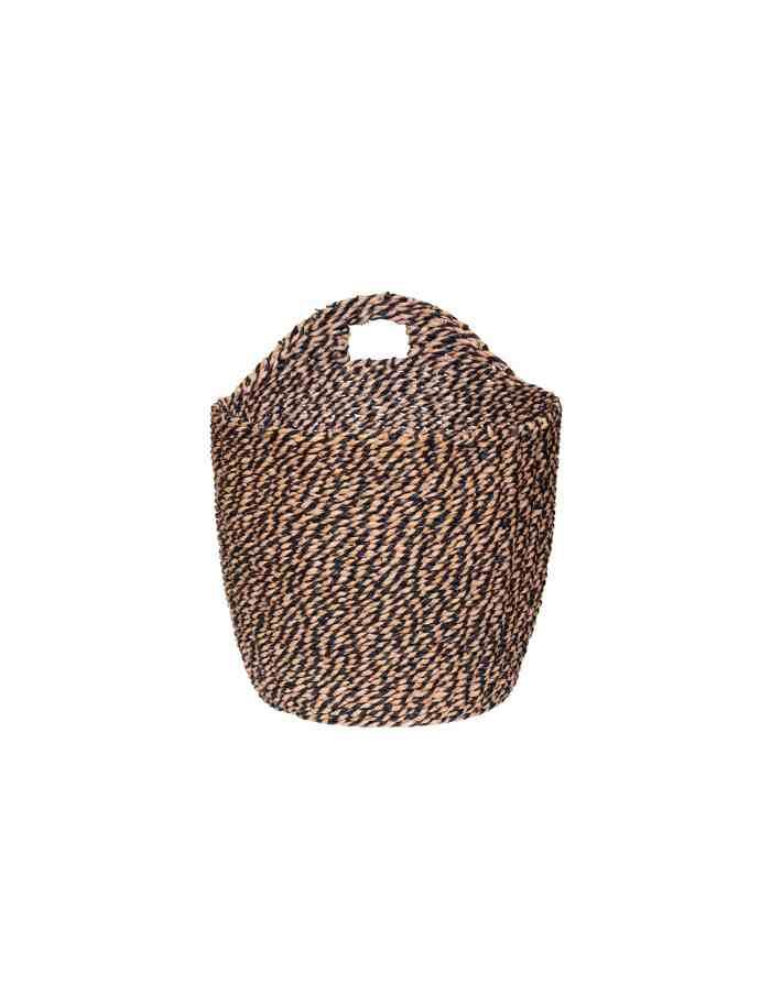 Medium Woven Hanging Basket, Hübsch