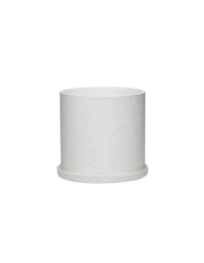 Medium Ceramic Plant Pot, Hübsch