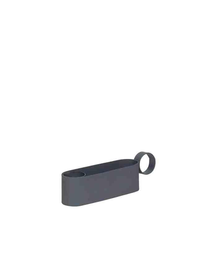 Grey Metal Candle Holder, Hübsch