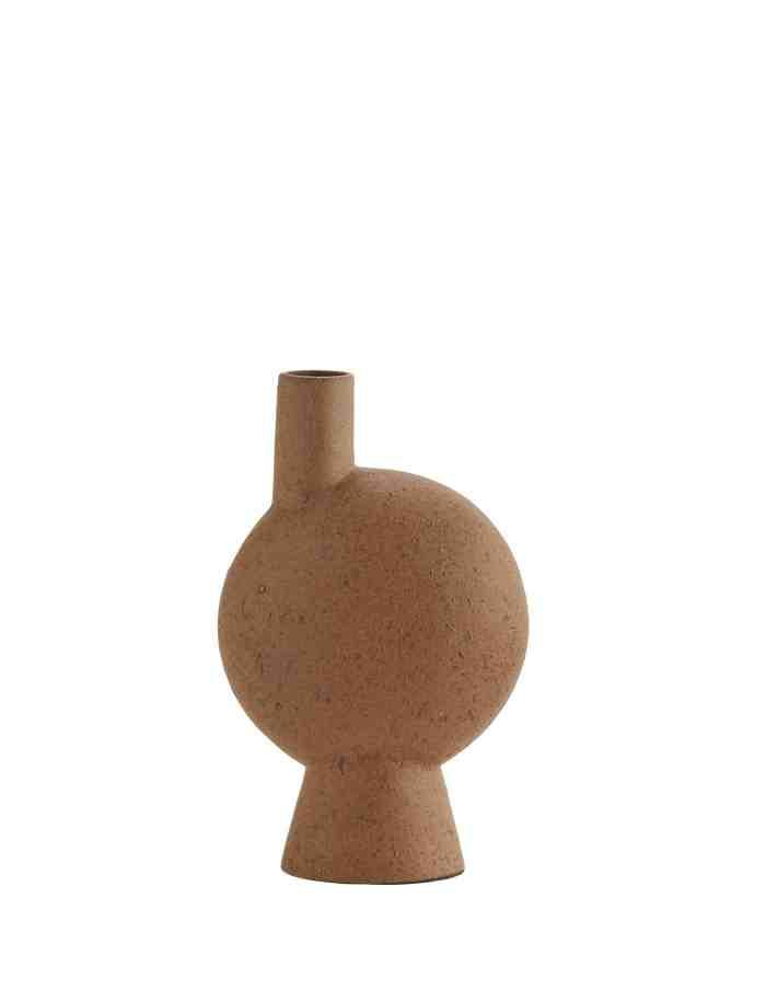 Abstract Terracotta Bud Vase, Madam Stoltz