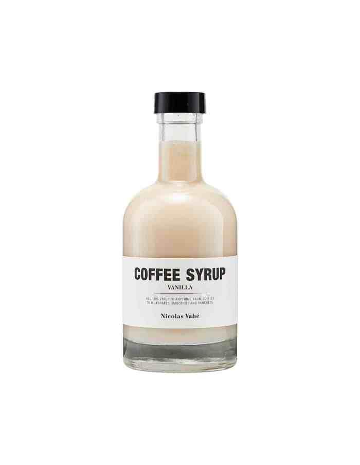 Vanilla Coffee Syrup, Nicolas Vahé