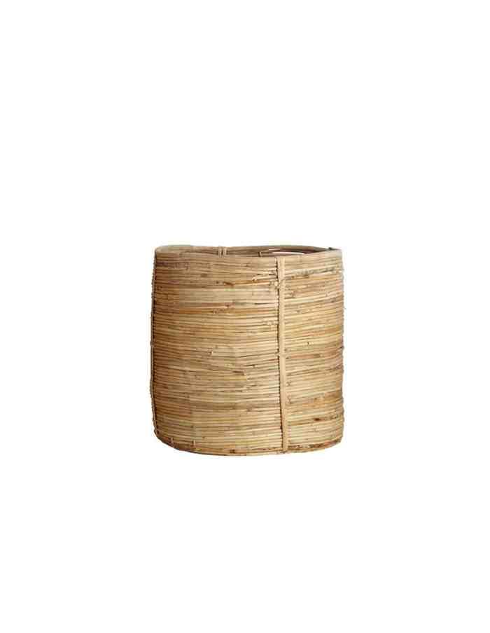 Medium Rattan Bamboo Basket, House Doctor
