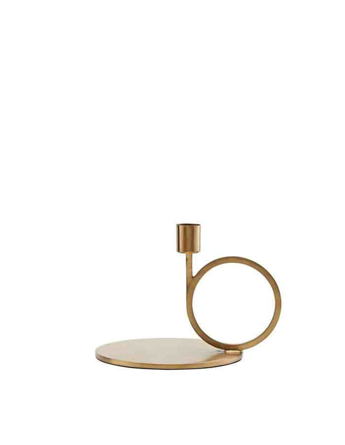 Cirque Brass Candle Stand, House Doctor