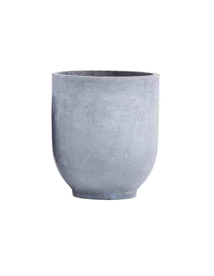 Large Scandi Concrete Planter, House Doctor