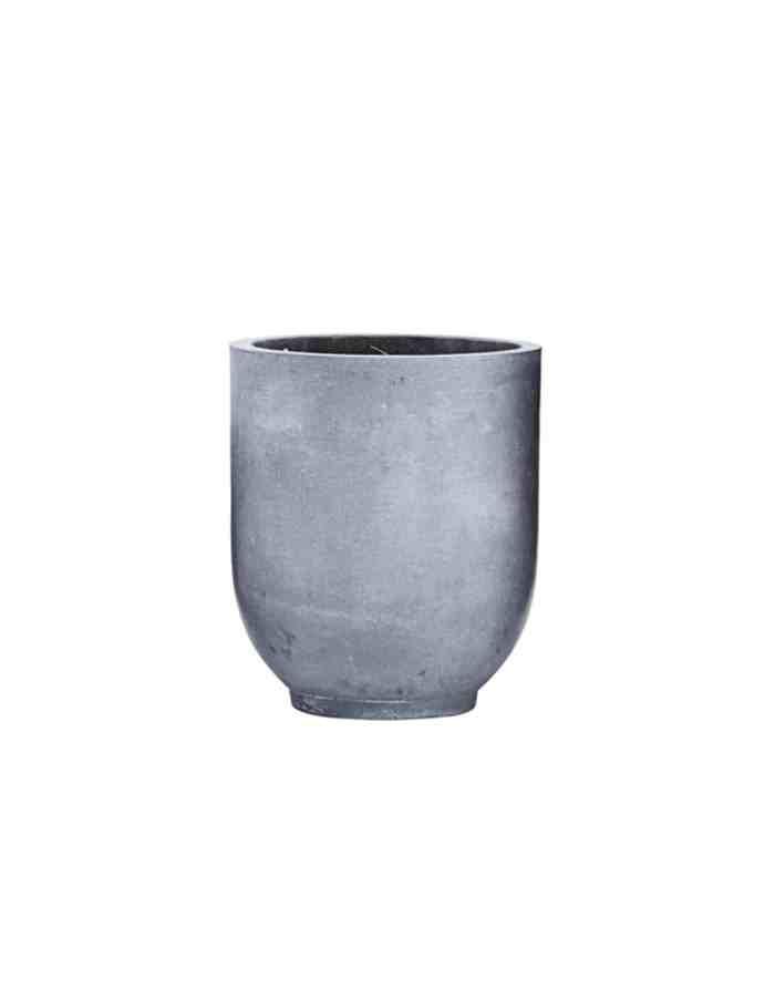 Medium Scandi Concrete Planter, House Doctor