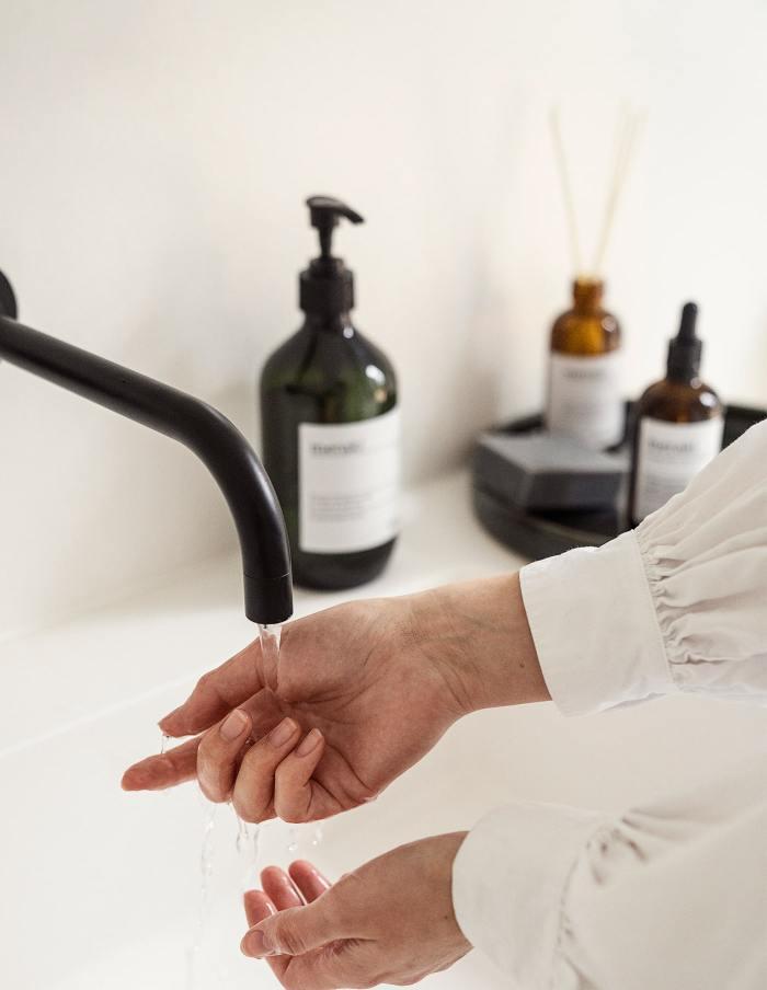 Linen Dew Organic Hand Soap, Meraki