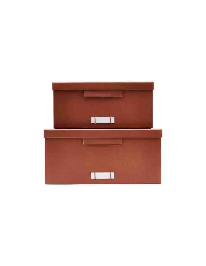 Large Cognac Storage Boxes, Monograph