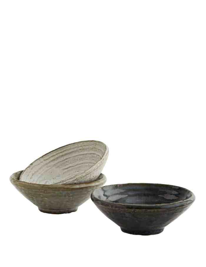 Stoneware Bowl Set, Madam Stoltz