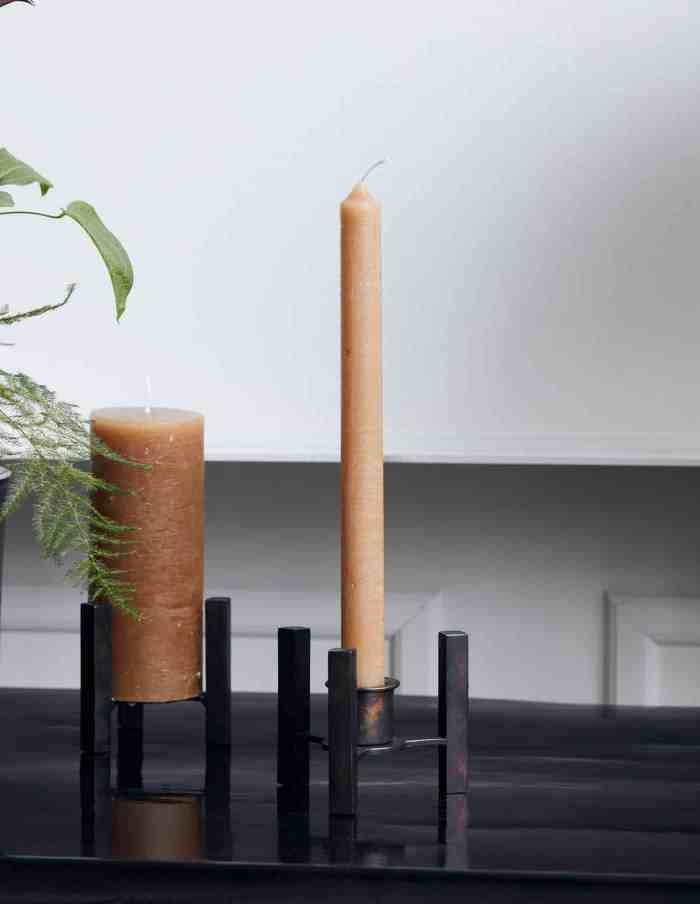 Rustic Camel Dinner Candles, House Doctor