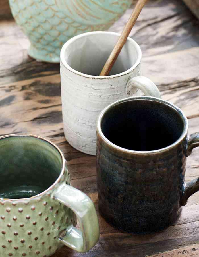 Handmade Stoneware Mug Set, Madam Stoltz